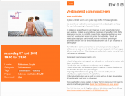 Lezing Verbindend communiceren